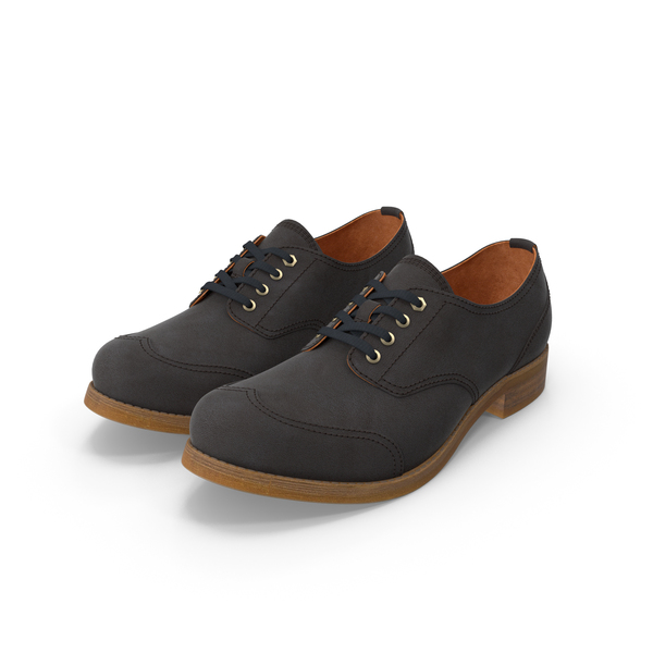 Oxford Black Shoes PNG & PSD Images