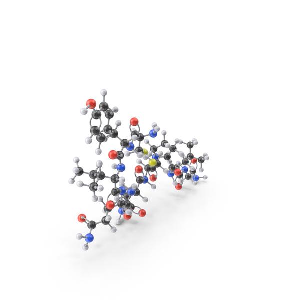 Oxytocin Molecule PNG & PSD Images