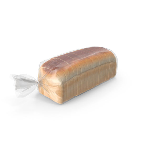 Packaged Sliced Bread PNG & PSD Images