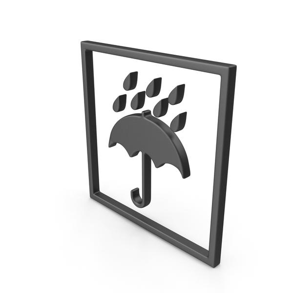 Symbols: Packaging Symbol Umbrella PNG & PSD Images