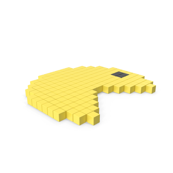 Pacman Game Pixelated Icon Interface PNG & PSD Images