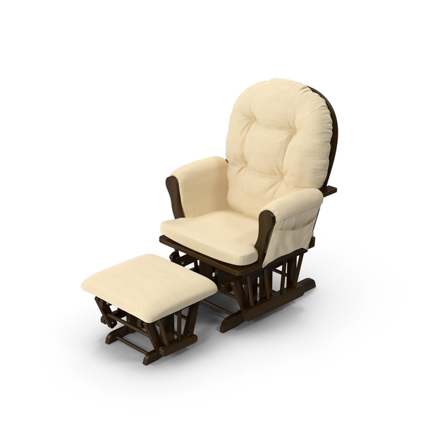 Padded Rocking Chair PNG & PSD Images