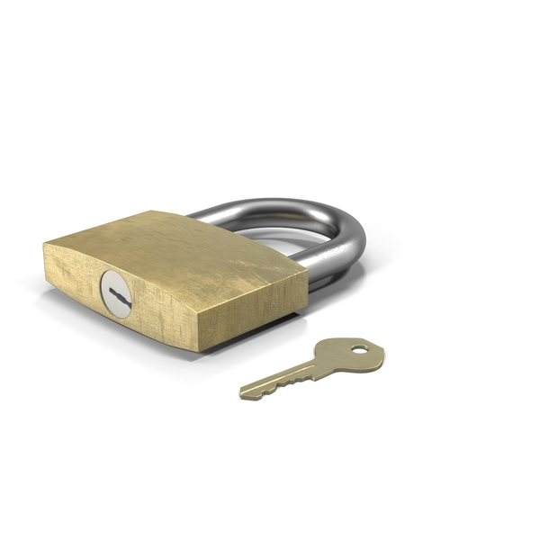 Padlock and Key PNG & PSD Images