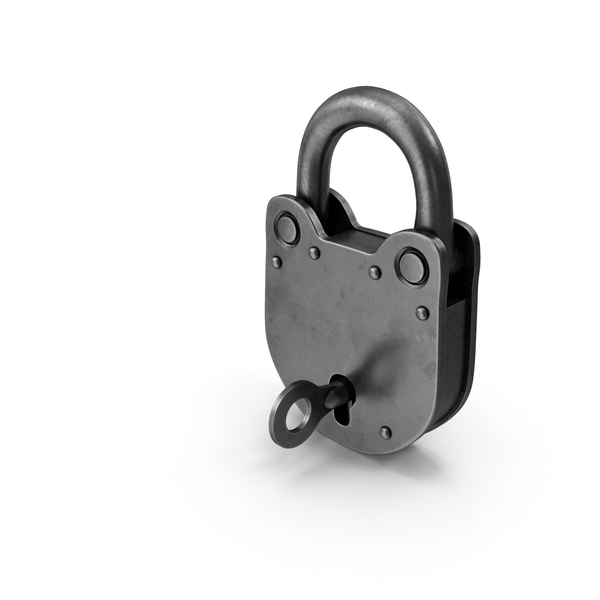 Padlock With Key PNG & PSD Images