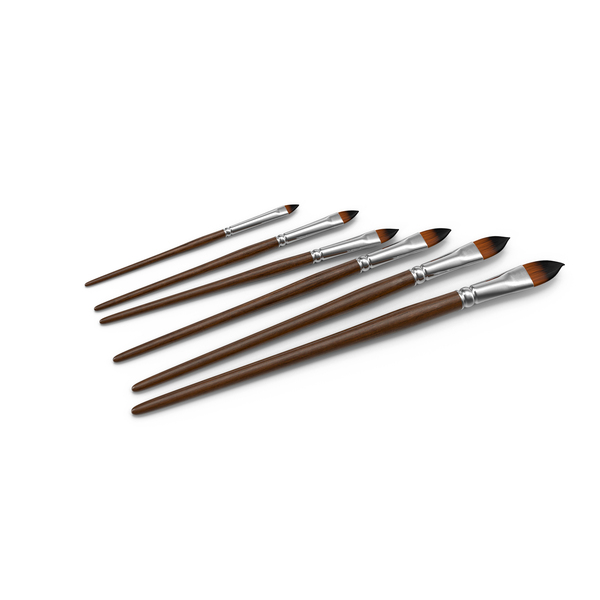 Paint Brushes Object