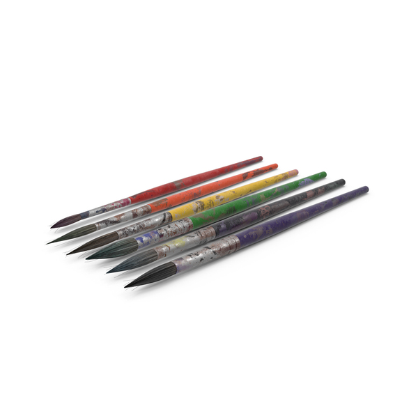 Paint Brushes PNG & PSD Images