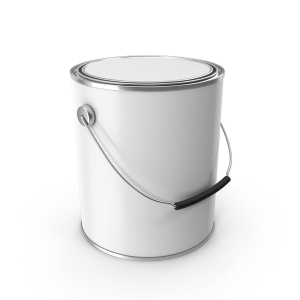 Can: Paint Bucket Closed PNG & PSD Images