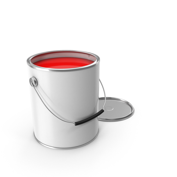 Can: Paint Bucket Open PNG & PSD Images