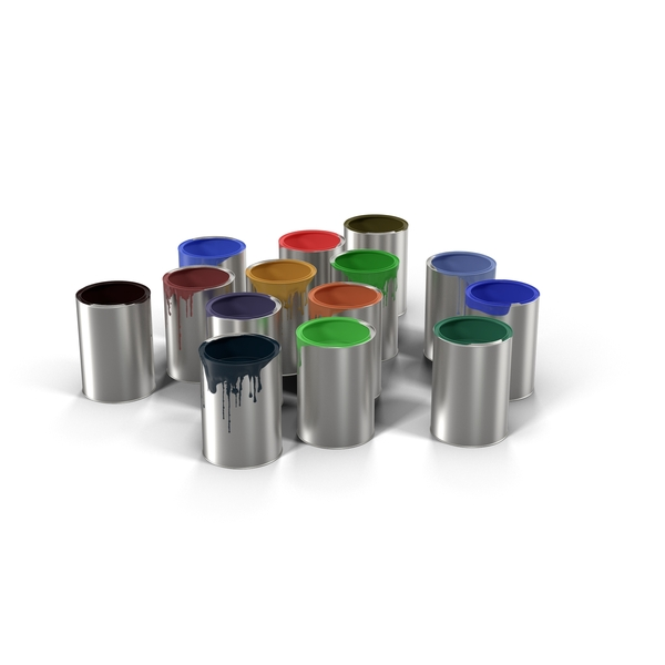 Paint Buckets (Cans) PNG & PSD Images