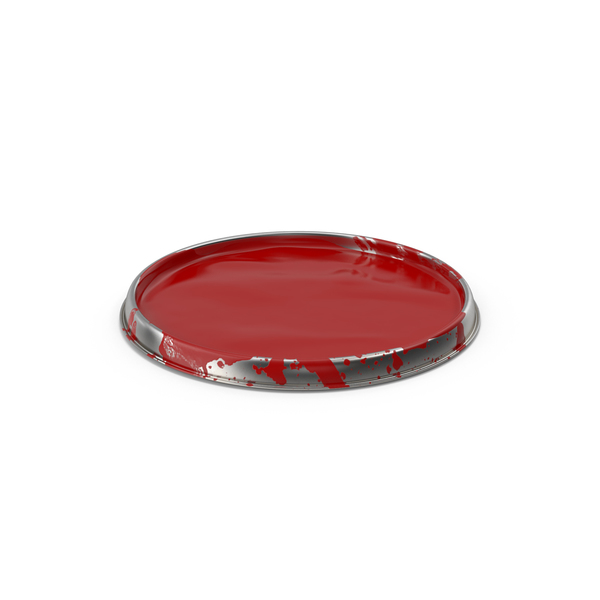 Paint Can Lid PNG & PSD Images
