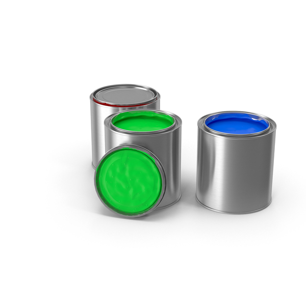 Can: Paint Cans PNG & PSD Images