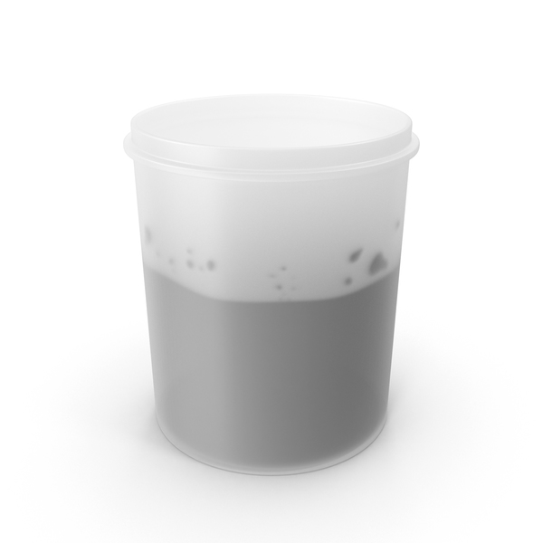 Paint in Plastic Cup PNG & PSD Images