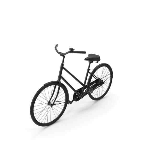 Painted Vintage Bike PNG & PSD Images