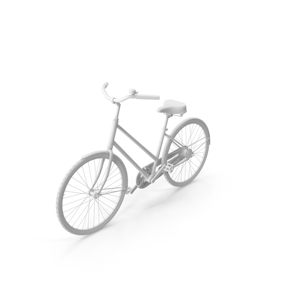 Painted Vintage Bike PNG & PSD Images