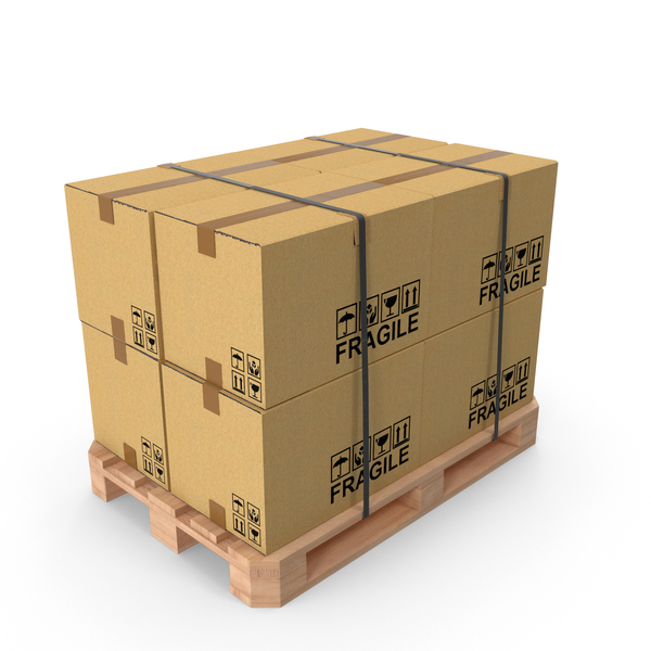 Pallet Boxes PNG & PSD Images
