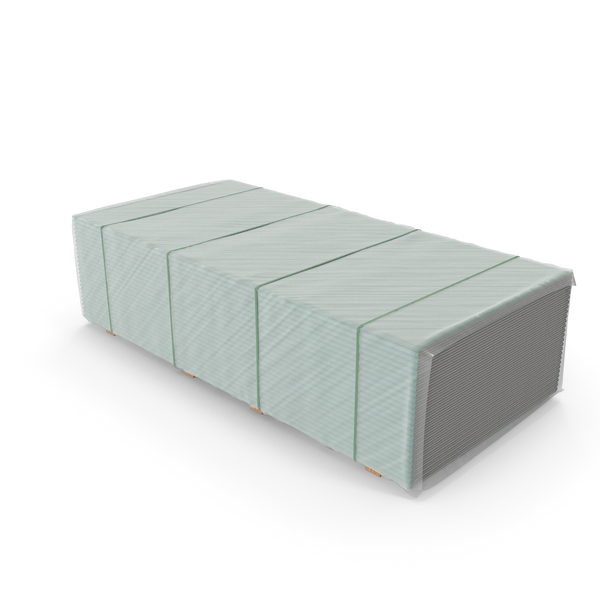 Pallet with Drywall PNG & PSD Images