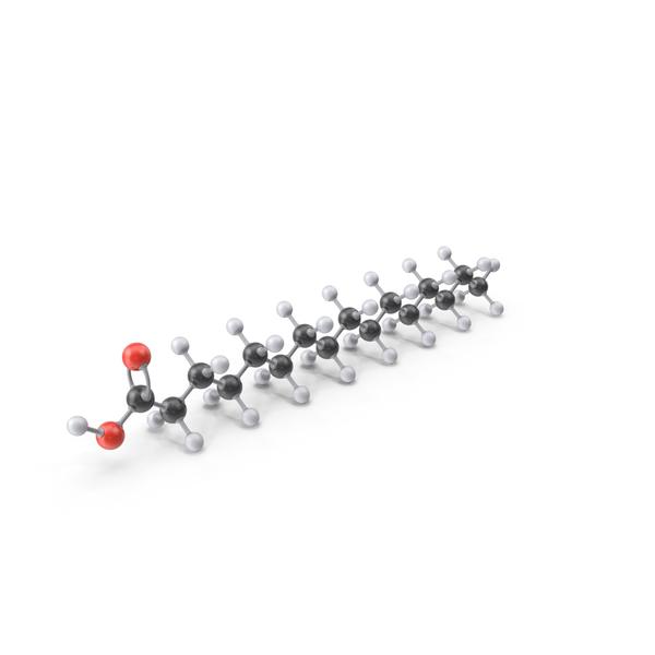 Palmitic Acid Molecule PNG & PSD Images