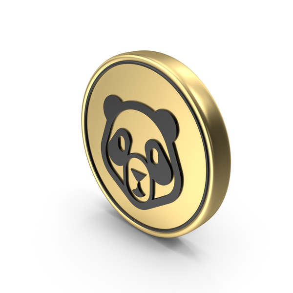 Panda Face Coin Logo Icon PNG & PSD Images