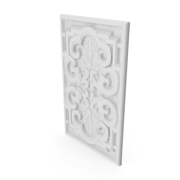 Relief: Panel Architectural Elements PNG & PSD Images