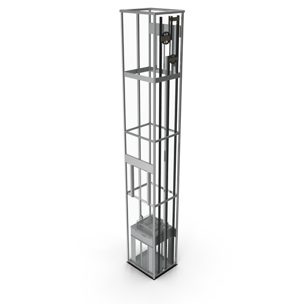 Panoramic Glass Elevator PNG & PSD Images