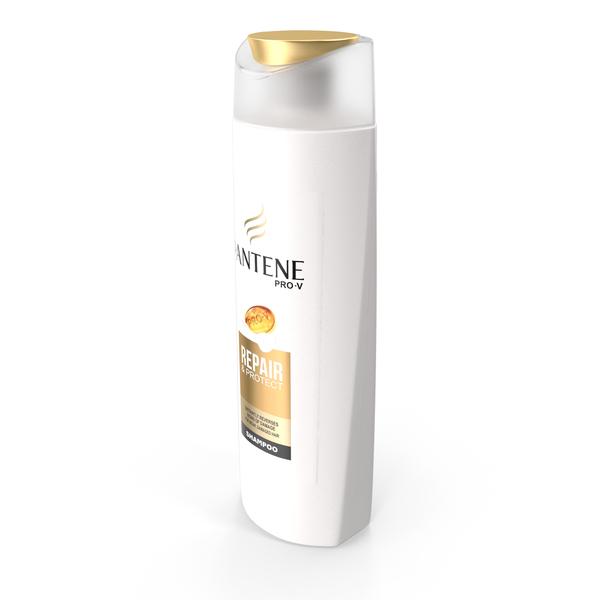 Pantene Pro V Shampoo Bottle PNG & PSD Images