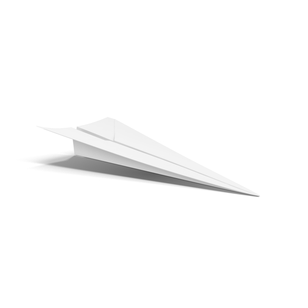 Paper Airplane Object