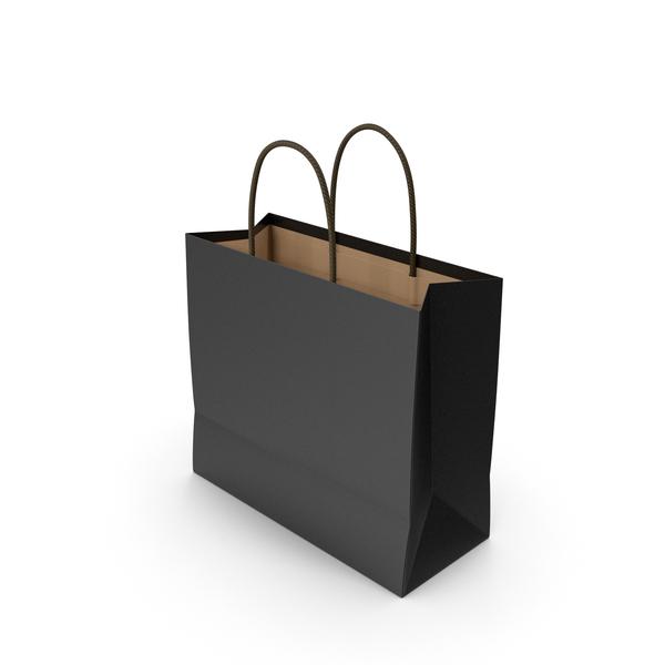 Paper Bag Black PNG & PSD Images