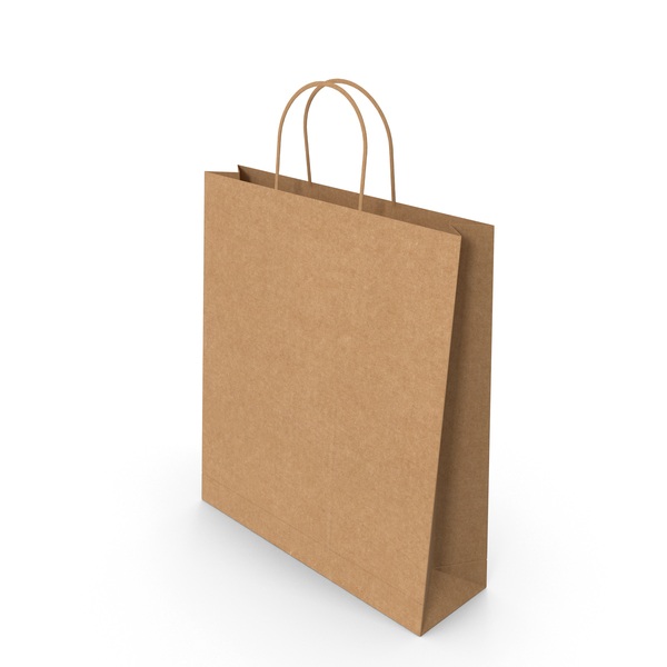 Gift: Paper Bag PNG & PSD Images