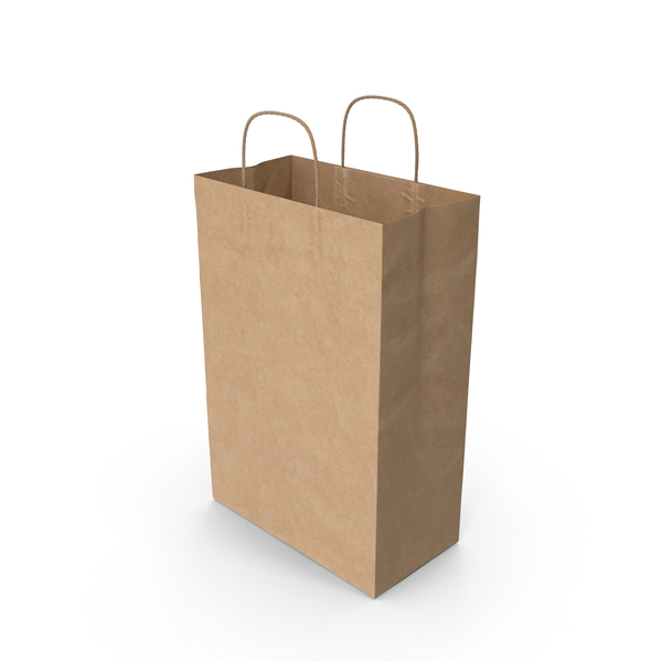 Paper Bag With Handle PNG & PSD Images
