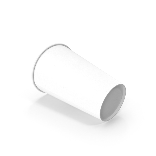 Paper Cup Empty Side PNG & PSD Images