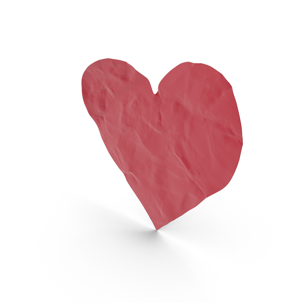 Paper Cutout Heart PNG & PSD Images