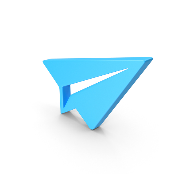 Airplane: Paper Plane Web Icon PNG & PSD Images
