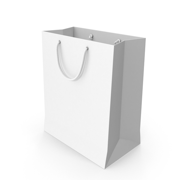 Paper Shopping Bag with String Handle PNG & PSD Images