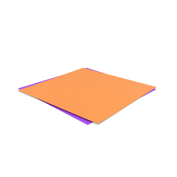 Paper: Papers Orange Purple PNG & PSD Images