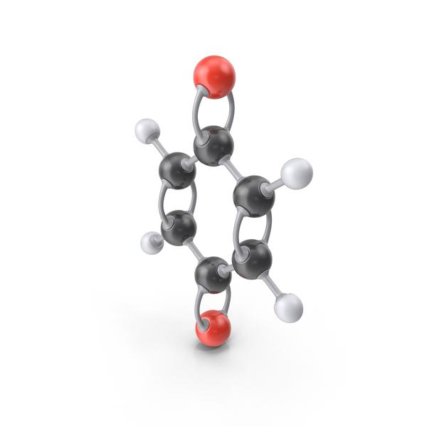 Para-Benzoquinone Molecule PNG & PSD Images