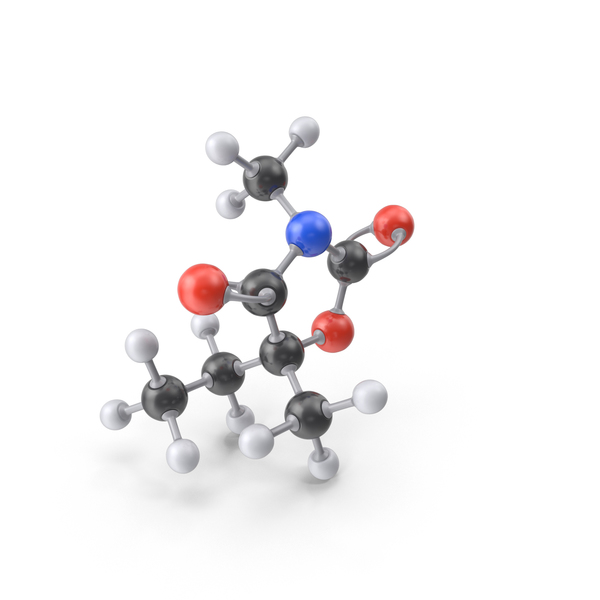 Paramethadione Molecule PNG & PSD Images