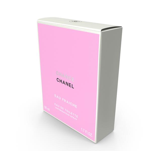 Perfume Bottle: Parfum Box Chanel Chance Eau Fraiche PNG & PSD Images