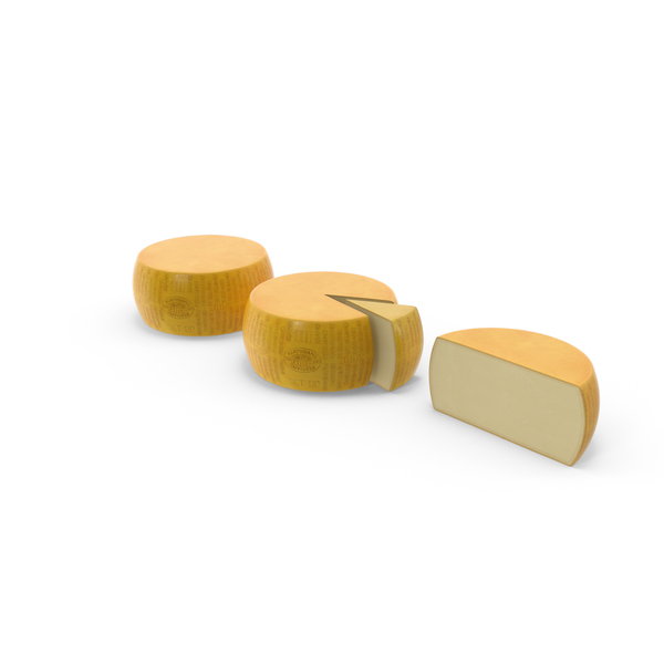 Parmesan Cheese Set PNG & PSD Images