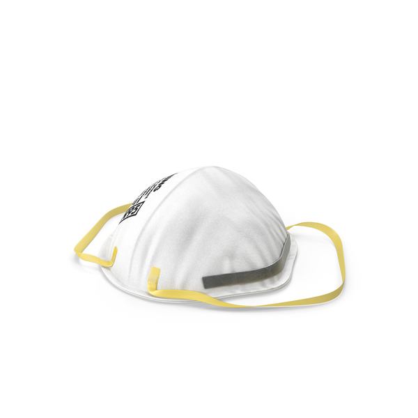Particulate Respirator 3M 8210 N95 Class PNG & PSD Images