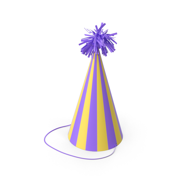 Party Hat With Pom Pom PNG & PSD Images