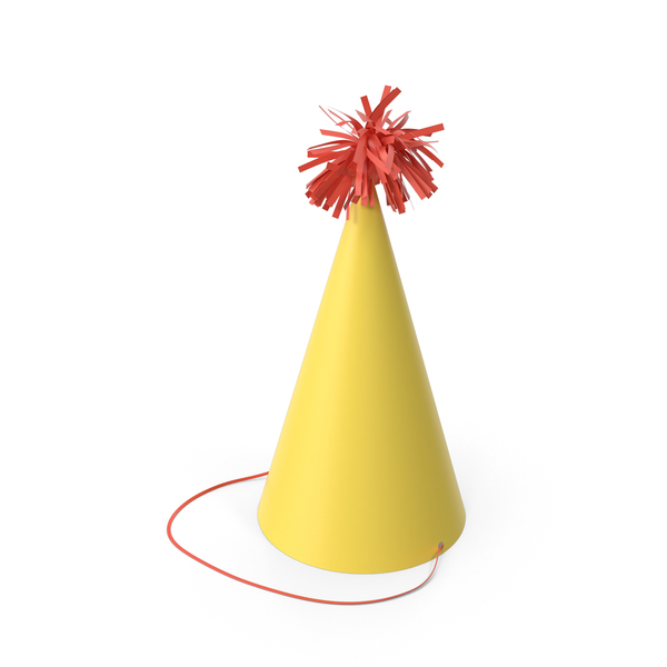 Party Hat Yellow PNG & PSD Images