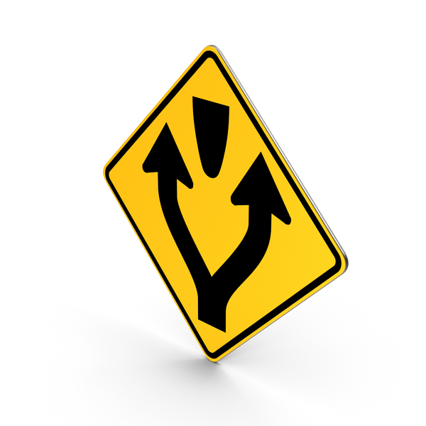 Pass Left Or Right Sign PNG & PSD Images