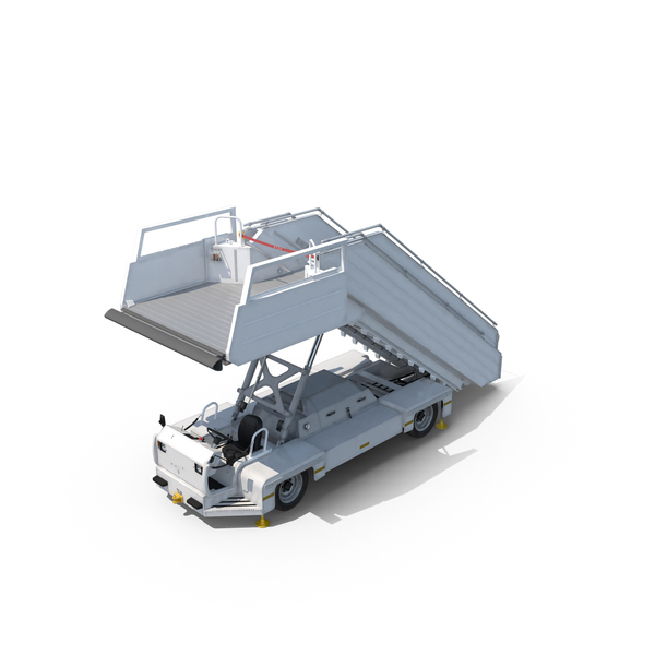 Stair Truck: Passenger Steps PNG & PSD Images