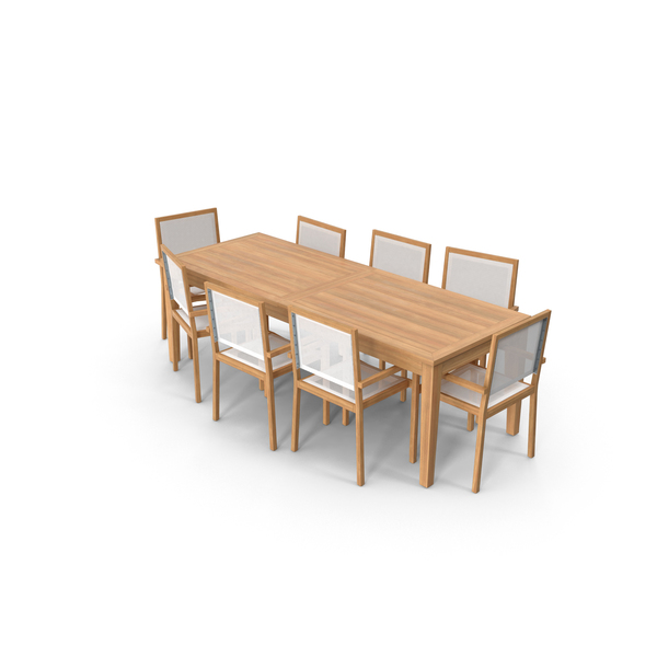 Patio Dining Table Object