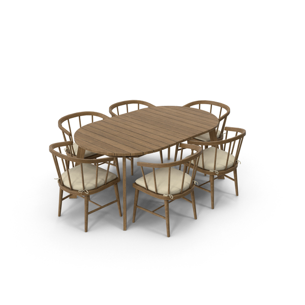 Patio Dining Table Round Object