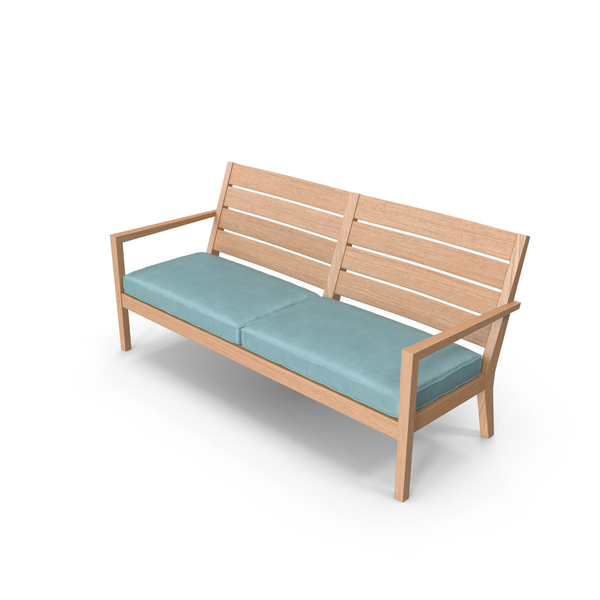 Furniture: Patio Loveseat PNG & PSD Images