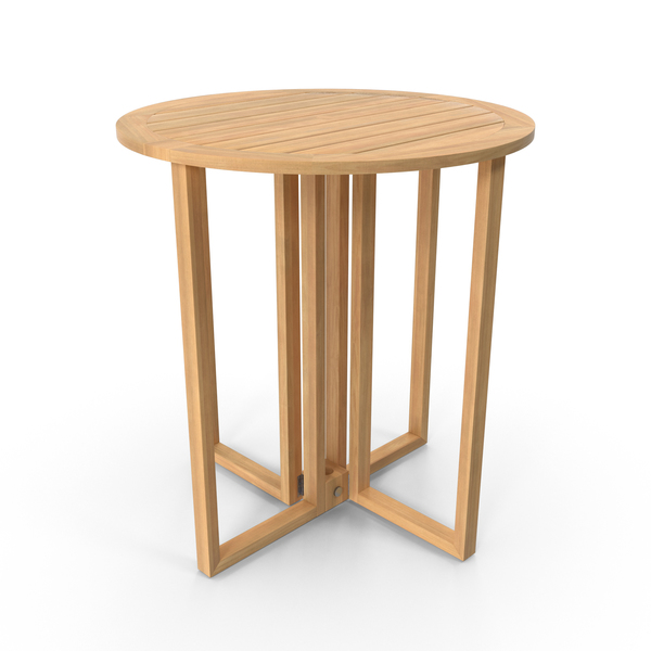 Patio Round Card Table PNG & PSD Images