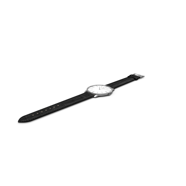 Patrimony White Dial Watch White Gold Open PNG & PSD Images