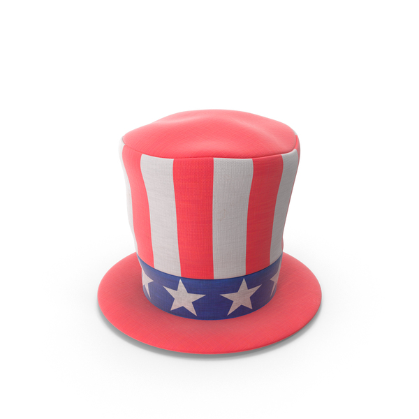 Top: Patriotic Stovepipe Hat PNG & PSD Images