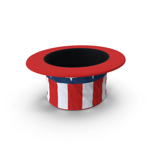 Patriotic Stovepipe Hat Object
